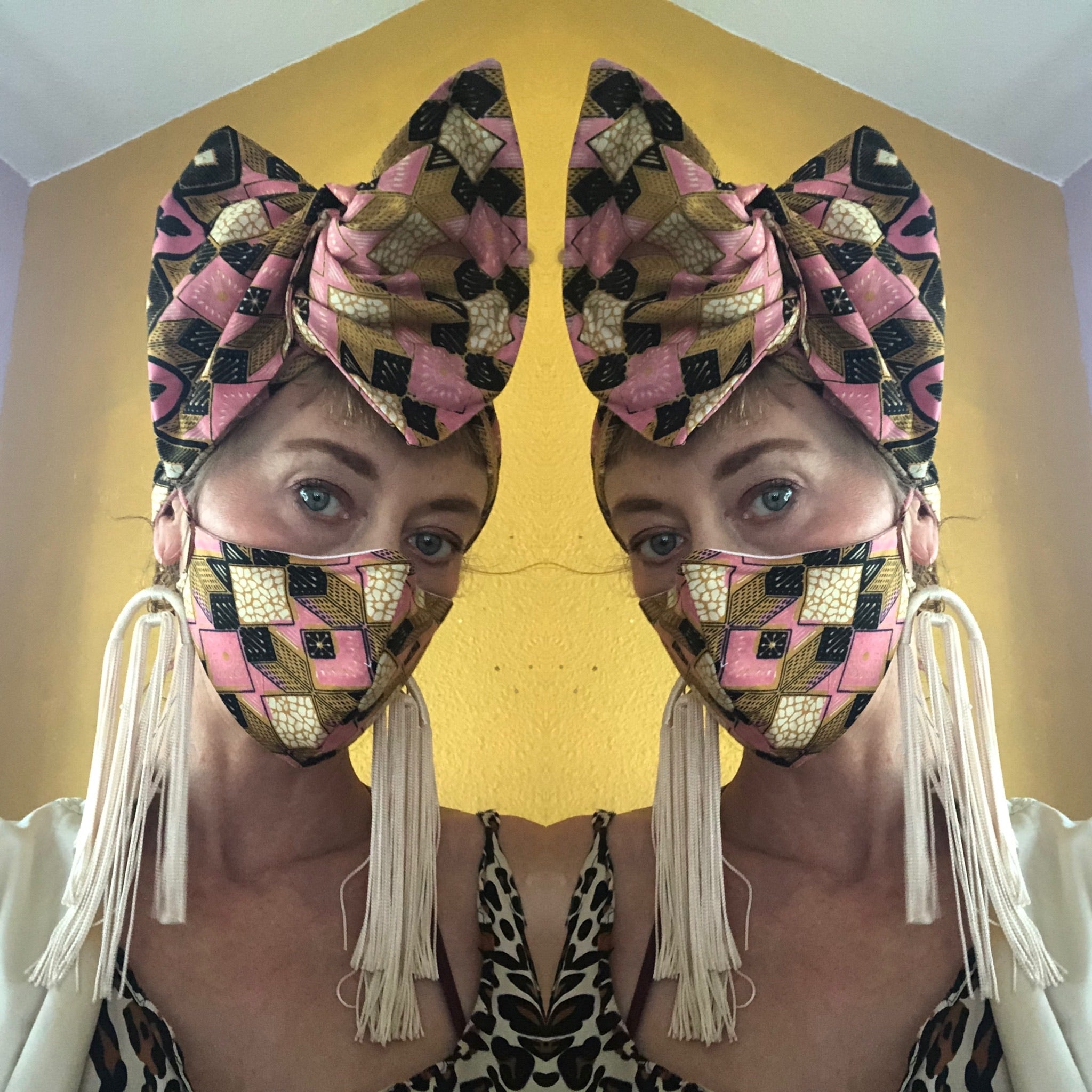 Whirling Turban Headwraps + Masks