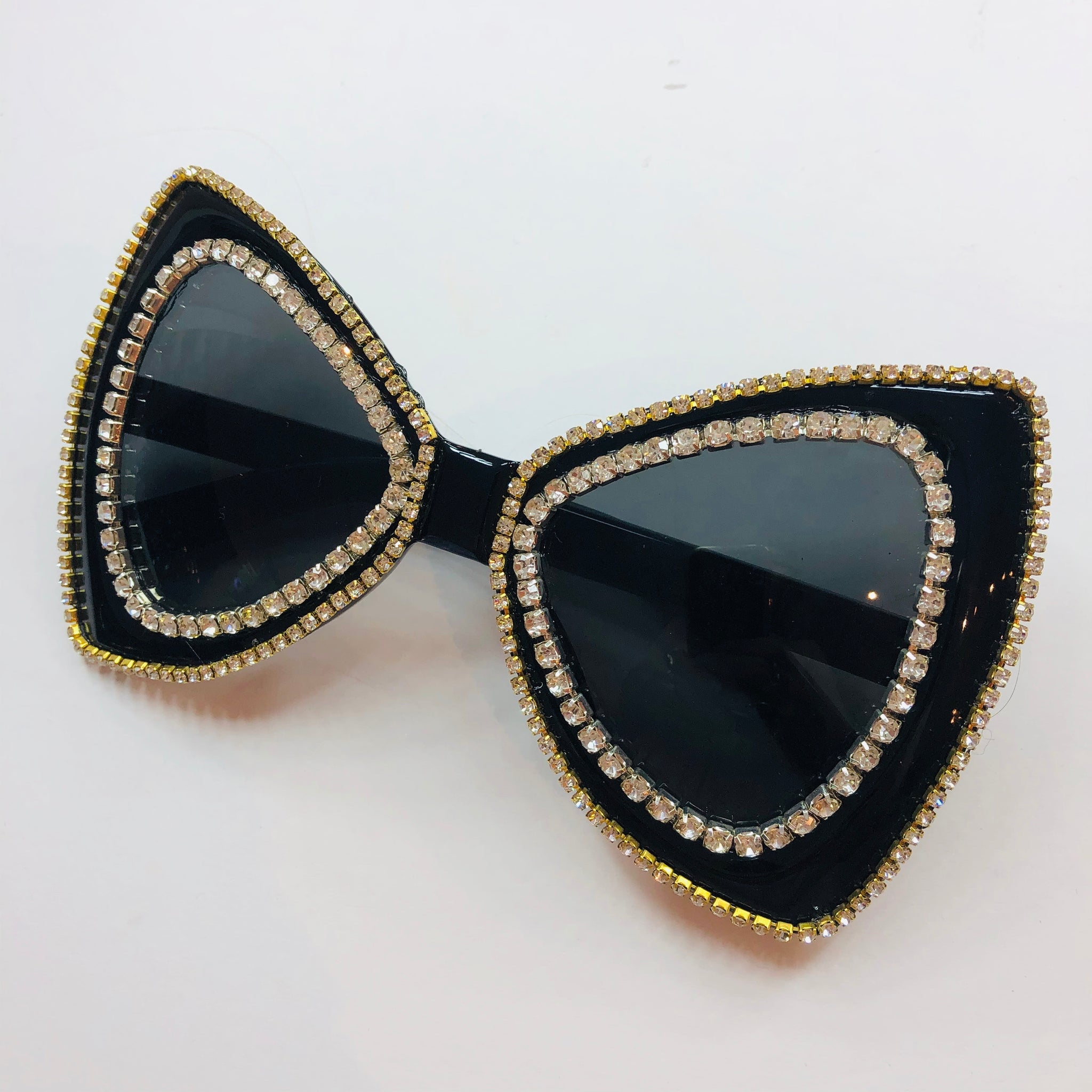 Sunnies / Rhinestone Bow Shape