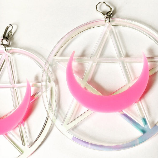 Marina Fini / Luna Pentagram Earrings