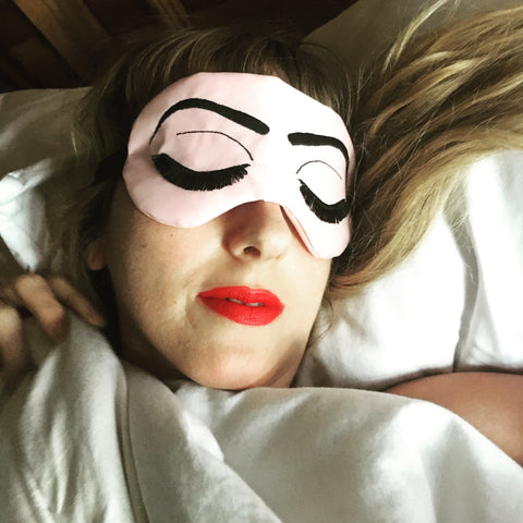 Sleep Mask / Satin Holly Golightly