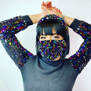 Super Sequin Face Masks