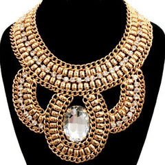 Big Bling Bib Necklace