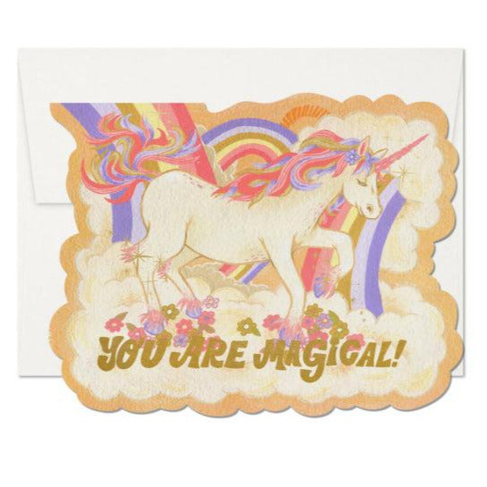 Assorted Greeting Cards / Die Cut Foil