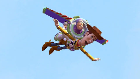 woody and buzz lightyear