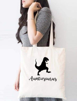 Auntisaurus Tote Bag - Tote Custom Made