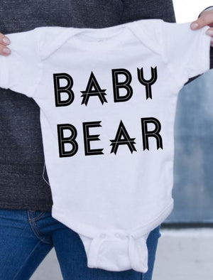 Baby Bear Onesie - Onesie Custom Made