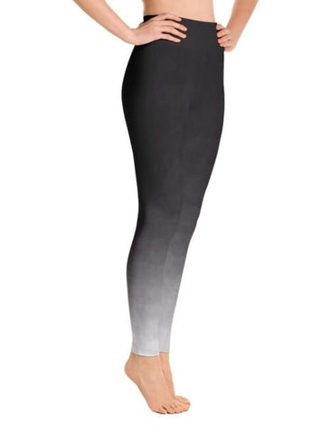 Image of Black Ombre Leggings - Leggings Custom Made
