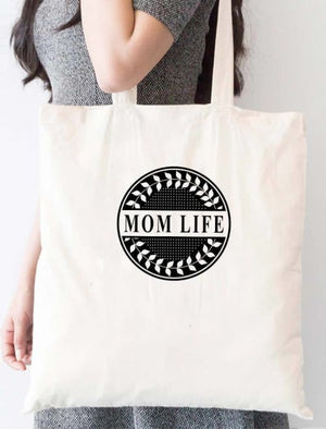 Circle Mom Life Tote Bag - Tote Custom Made