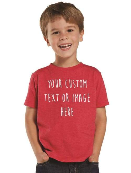 Custom Toddler Shirt - Boys Youth Custom Made