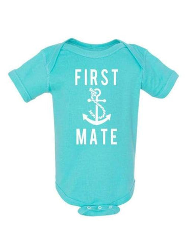 First Mate Onesie - Onesie Custom Made