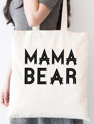 Mama Bear Tote Bag - Tote Custom Made