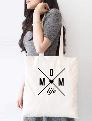 Mom Life Tote Bag - Tote Custom Made