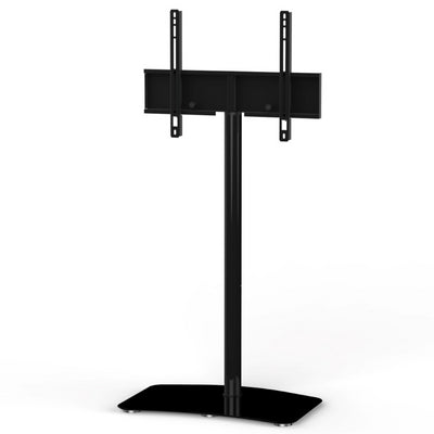 "Sonorous PL-2800 Modern TV Floor Stand Mount / Bracket For Sizes up to 65"" (Steel) - Black"