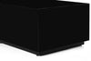 Sonorous CTB-120 All Glass Coffee Table / Center Table - Black