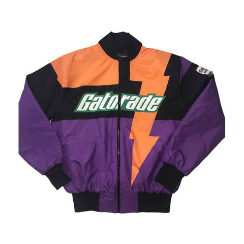 "Nostalgic Club ""Gatorade"" Racing Jacket ""Purple"""