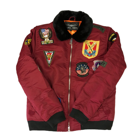 "G-1 Bomber Jacket ""Burgundy"""