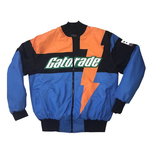 "Nostalgic Club ""Gatorade"" Racing Jacket ""Blue"""