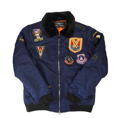 "G-1 Bomber Jacket ""Navy"""