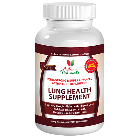 Lung health supplements