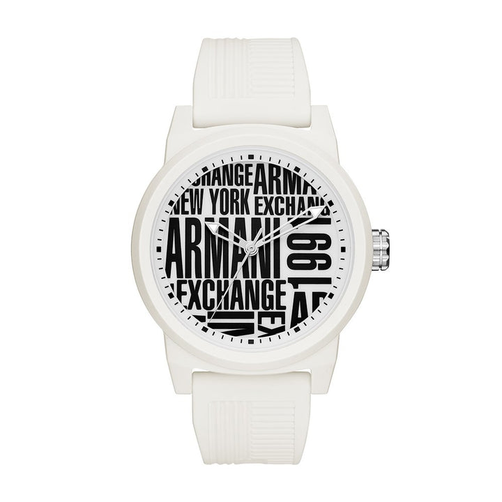 Armani Exchange Analong Dial Men's Watch - 'Stat-Ment