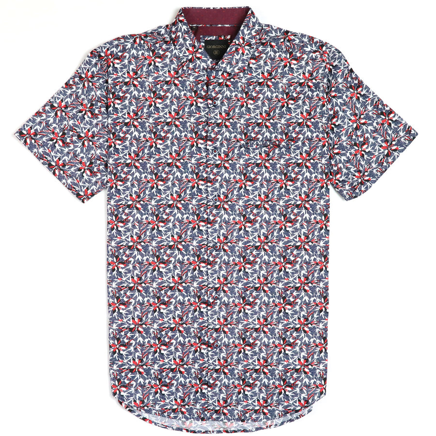 Giorginni Cotton Short Sleeve Woven