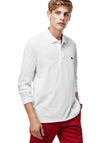 Lacoste - Long Sleeve Polo Shirt - 'Stat-Ment