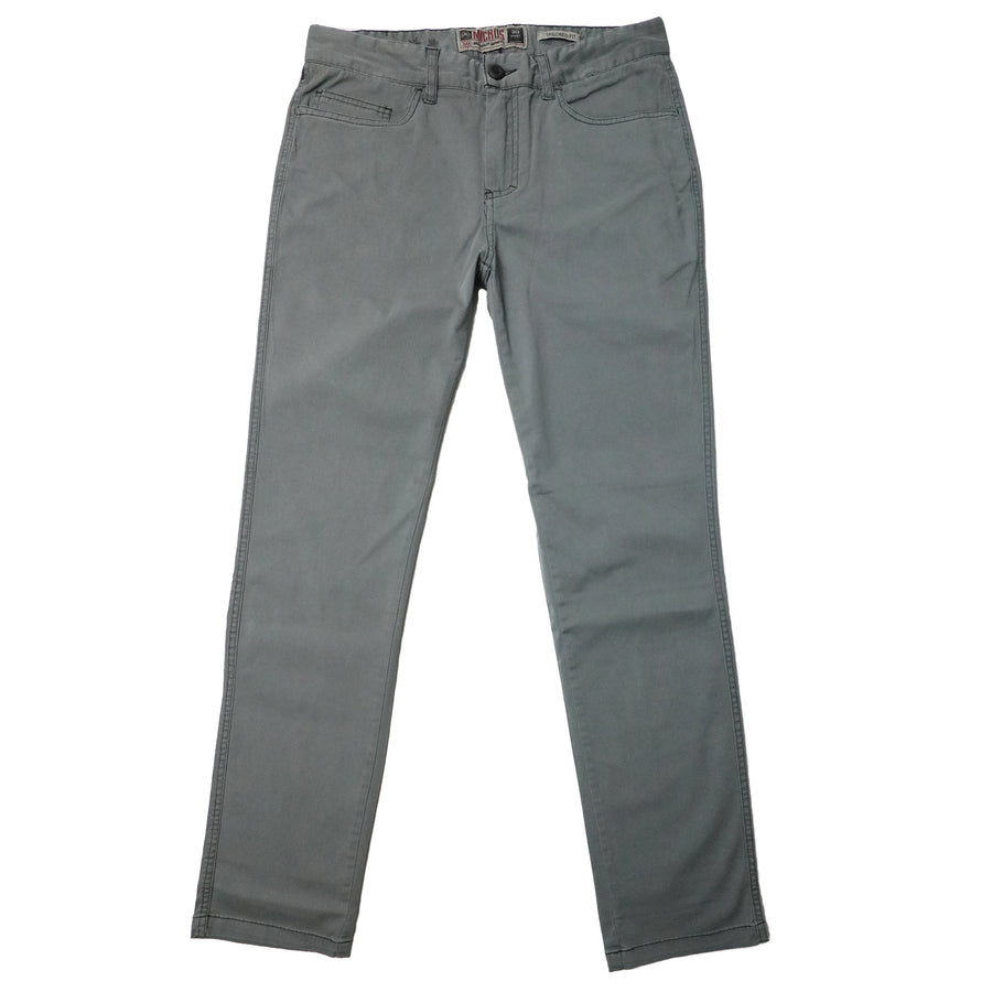 Micros Slim Fit Cotton Pants