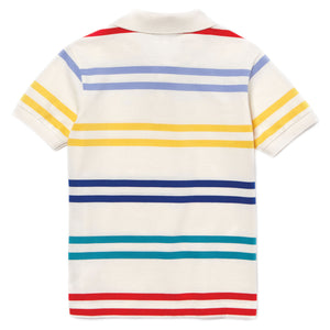 Lacoste Colored-Stripe Polo
