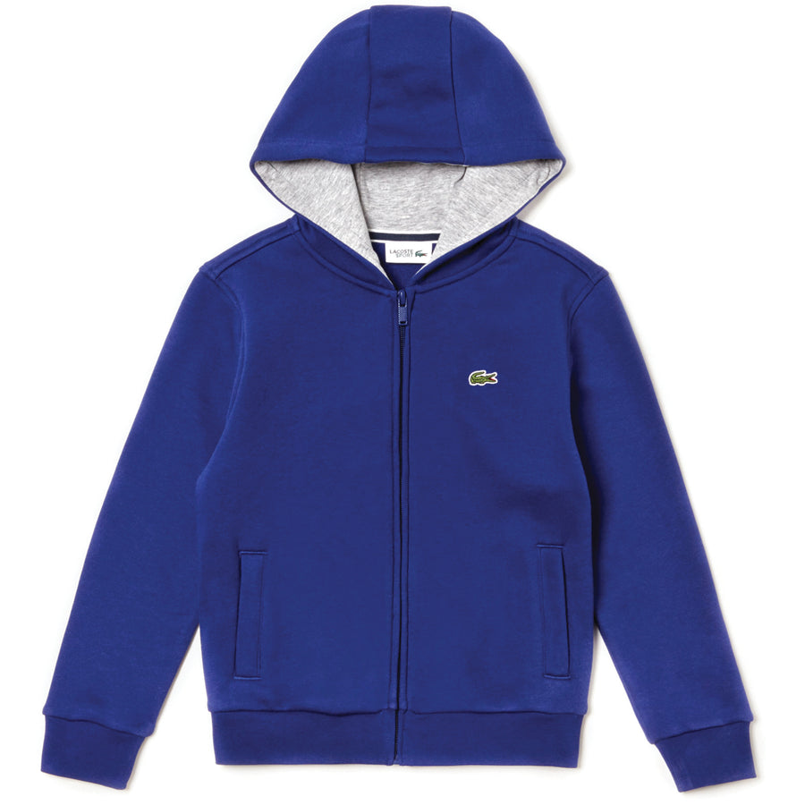 Lacoste Sport Full-Zip Fleece Hoodie