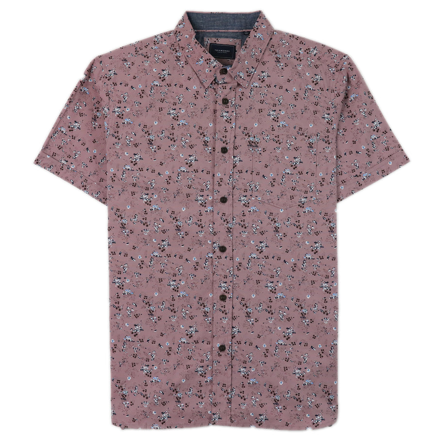 7 Diamond Good Vibes Woven Shirt