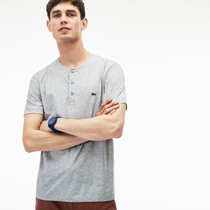 Lacoste Henely Neck Pima Cotton T-Shirt