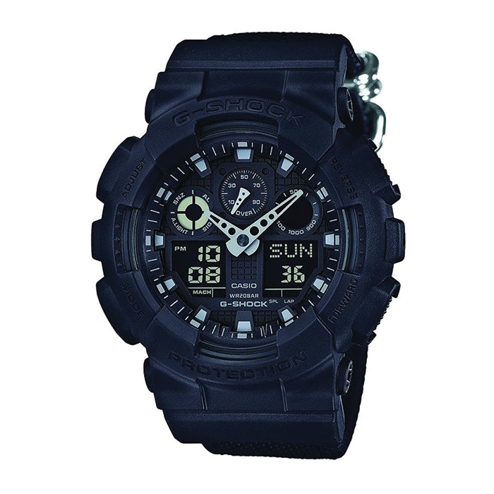G-Shock Black Resin Strap Watch