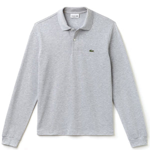 Lacoste Cotton-Pique Polo Shirt Melange