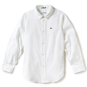 Lacoste Oxford Cotton Knit Shirt