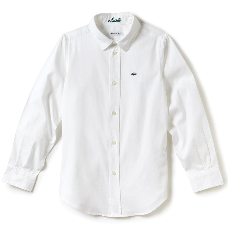 Oxford Cotton Knit Shirt