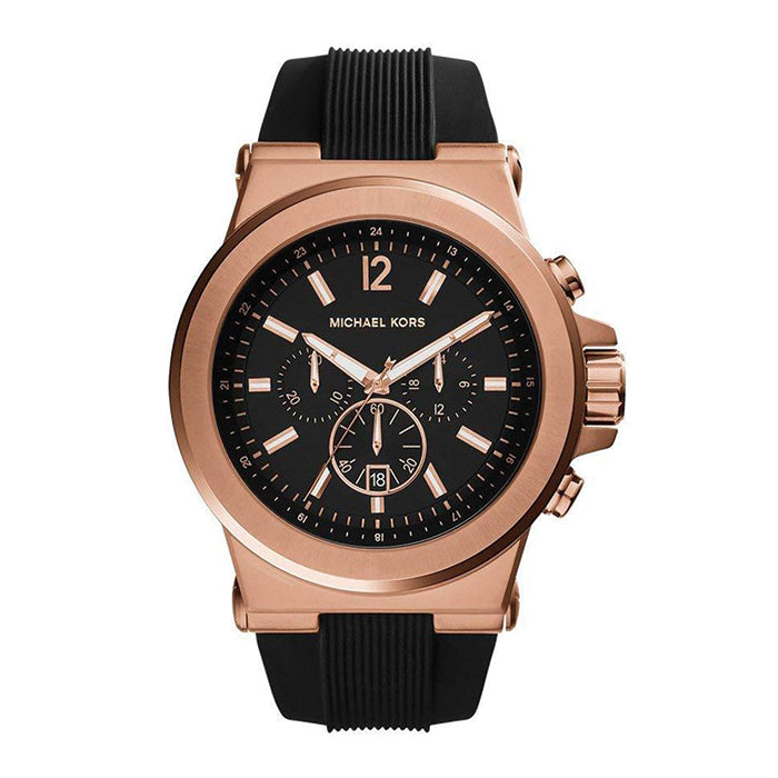 Classic Watch Dial Black Chronograph