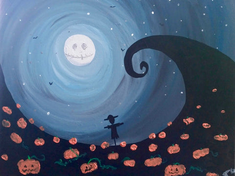 "Fionn MacCool's Orangeville - Halloween Painting Night, Oct 31st, 2017 (7:30-9:30pm) ""Curly Hill""  75 4th Ave. Orangeville"