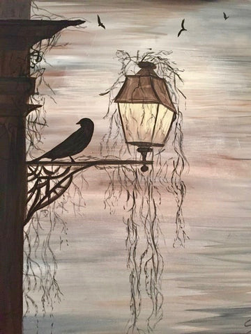 "Anchor Bar Hamilton - Painting Night - Oct 30th, 2017 (7-9pm) ""Raven's Night"", 120 King St W, Hamilton"