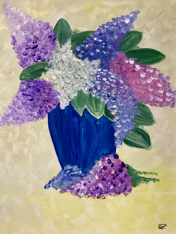 "East Side Mario's Barrie - Mom & Me Mother's Day Theme - May 10th, 2018 (7-9pm) - ""Grandma's Lilacs"""
