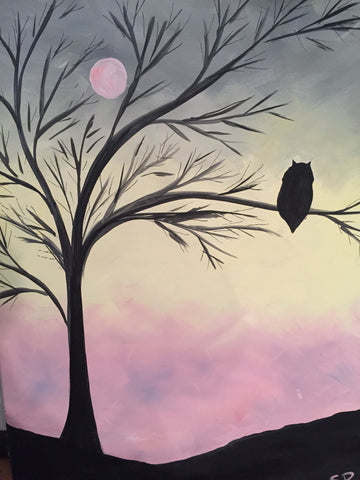 "St. Louis Bar & Grill Painting Night - Oct 19th, 2017, ""Hoot"" 557 Dixon Rd #130, Etobicoke"