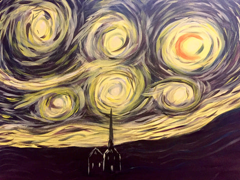 "Wild Wing West Milton - Dec 20th, 2017 (7-9pm) ""Starry Night - With LED Lights"" - 6921 Derry Road West, Unit #1, Milton"