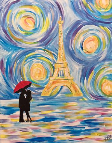 "St. Louis Bar & Grill Painting -  Feb 22nd, 2018 (7-9pm), ""Just You & Me"" 29 Aventura Ct, Mississauga"