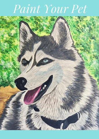 "Shoeless Joe's Guelph Paint Night - Apr 22nd, 2018 (2-4pm) ""Paint Your Pet Portrait"" - 5 Clair Rd W #5, Guelph"