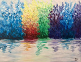 "Don Cherry's Painting Night - May 24th, 2018 (7-9pm)  - ""Reflections"" - 6 Bowes Street, Parry Sound"
