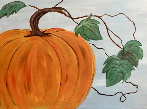 "Whale & Ale, Kitchener - Painting Night SALE!! $15- Oct 19th, 2017 (7-9pm) ""The Great Pumpkin"" 1120 Victoria St N, Kitchener"