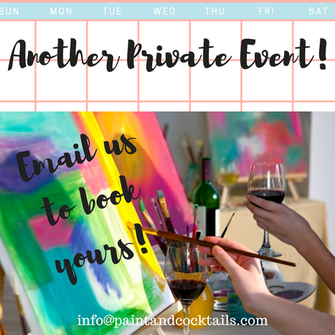 Private Party Booked For Apr 20th