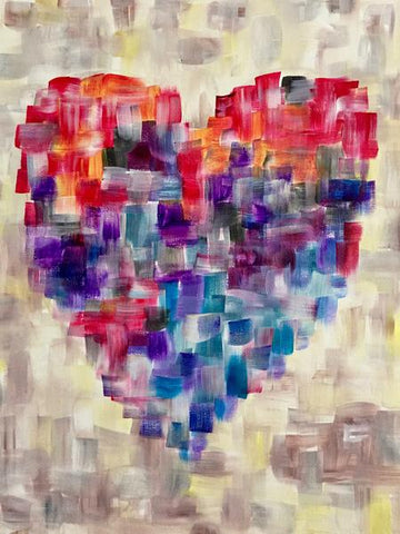 "St. Louis Bar & Grill Peterborough Painting Night Sale $20! - Mar 19th, 2018 (7-9pm) ""Open Heart"""