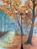 "Whale & Ale, Kitchener - Painting Night - Nov 2nd, 2017 (7-9pm) ""Paris Path"" 1120 Victoria St N, Kitchener"