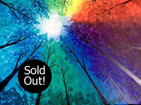 "Kelsey's Georgetown Painting Night - Apr 22nd, 2018 (2-4pm) ""Prism Grove"" 256 Guelph St, Georgetown"