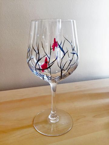 "Pipes & Taps Painting Night - Dec 11th, 2017 (7-9pm) ""Paint 2 Wine Glasses"" 231 Oak Park Blvd #101, Oakville"